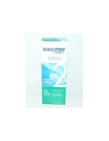 RHINOMER FUERZA 2 115 ML - Rhinomer Fuerza es un producto destinado al resfriado especialmente indicado para niños.