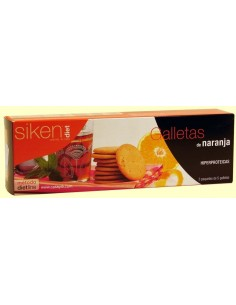 SIKEN DIET GALLETAS NARANJA 15U