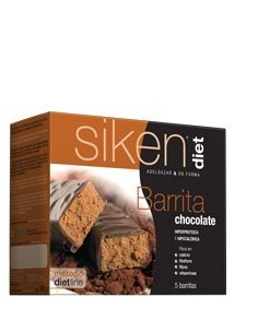 SIKEN DIET BARRITA DE CHOCOLATE 5 U