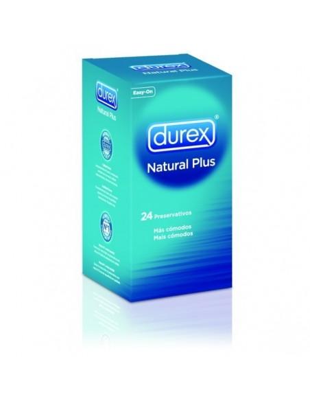 DUREX PRESERVATIVOS NATURAL 24 UDS