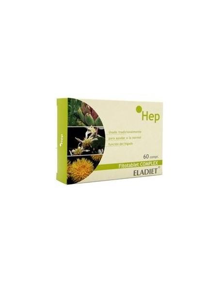 ELADIET FITOTABLET COMPLEX HEP (HEPABEST) 60CAPS