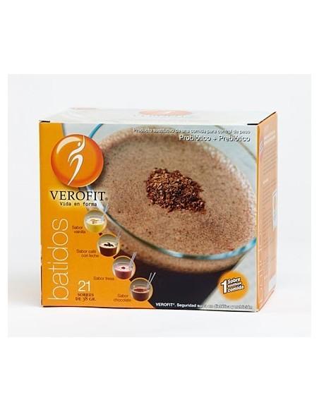 VEROFIT BATIDO DE CHOCOLATE 21 SOBRES