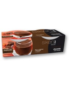 SIKEN DIET CREMA DE CHOCOLATE 2 UDS