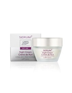 SERUM7 CREMA DE NOCHE NORMAL MIXTA 50 ML