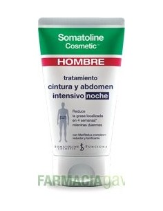 SOMATOLINE HOMBRE NOCHE CINTURA Y ABDOMEN 150ML