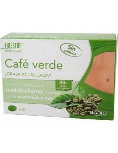 ELADIET CAFE VERDE SIN CAFEÍNA 60 COMPRIMIDOS