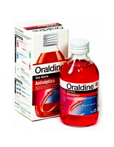 ORALDINE ANTICARIES 400ML