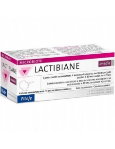 LACTIBIANE IMEDIA STICKS ORODISPENSABLES 4 STICKS