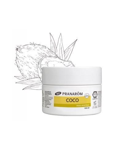 PRANAROM ACEITE SOLIDO DE COCO 100 ML