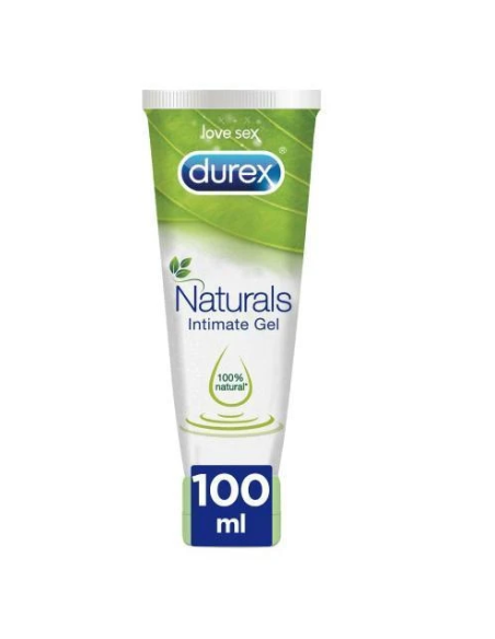 DUREX NATURALS H20 INTIMATE GEL PURE 100 ML