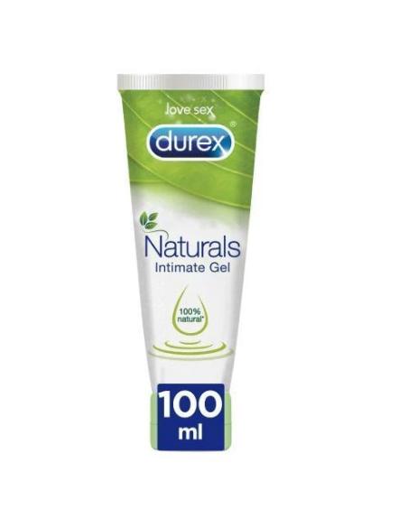 DUREX NATURALS H20 INTIMATE GEL PURE 100 ML