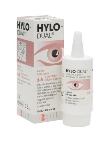 HYLO DUAL 10 ML COLIRIO LUBRICANTE
