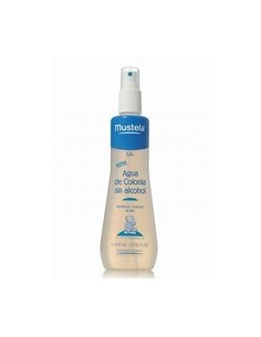 MUSTELA BEBE COLONIA SIN ALCOHOL VAPORIZADOR 200ML