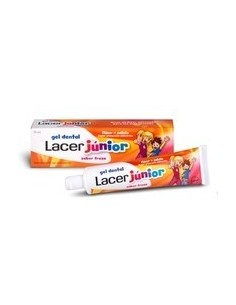 LACER JUNIOR GEL DENTÍFRICO SABOR FRESA 75ML